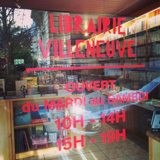 libraire Villeneuve de Clichy