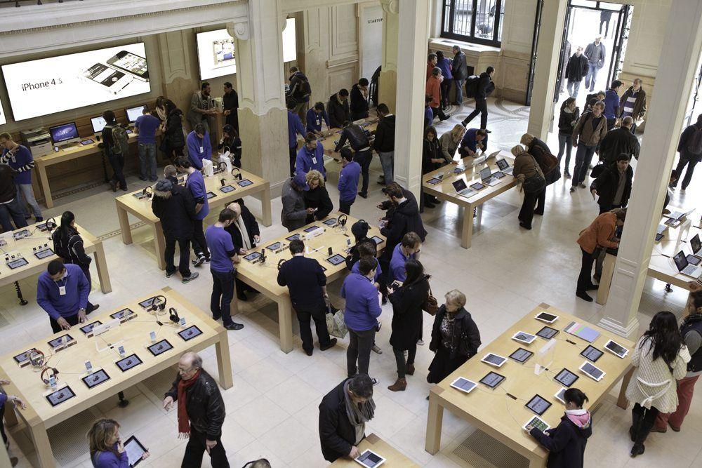 Apple, l'un des champions reconnus de l'expérience client