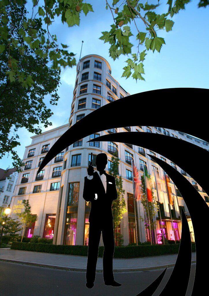 THE CHARLES HOTEL James Bond