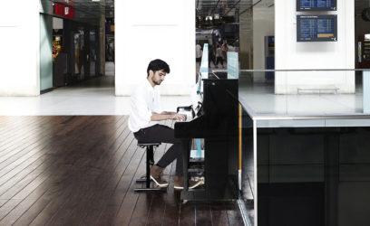 piano en gare sncf
